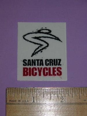 SANTA CRUZ Road Mountain MTB BIKE FRAME STICKER DECAL A