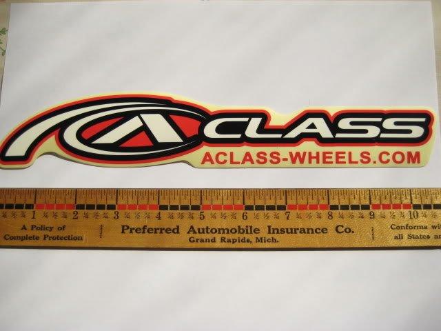 ALEX RIM Mountain Road BMX Bike Wheel C STICKER DECAL