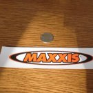3 MAXXIS TIRE Bicycle Mountain BIKE FRAME STICKER DECAL