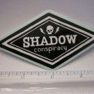 "4"" Shadow Conspiracy BMX Street Ride Car Rack Bike BICYCLE FRAME STICKER DECAL"