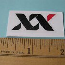 "1.75"" SRAM XX RACE Red Road  MTB BIKE BICYCLE FRAME ride rack car STICKER DECAL"