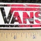 VANS Shoes BMX Jump MTB Race Bike Ride STICKER DECAL