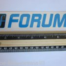 "6"" FORUM Blue/Black Ski Snowboard Race Rack Ride DECAL STICKER - FREE SHIPPING"