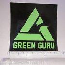 "3"" GREEN GURU Recycle Road MTB  Bike Frame Bicycle DECAL STICKER Free Shipping"
