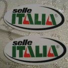 2 SELLE ITALIA BICYCLES BIKE FRAME Road  STICKER DECAL