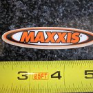 "3"" MAXXIS TIRES ATV Moto Street Bicycle Ride Race Car Tool Frame STICKER DECAL"