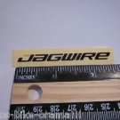 "2.5"" JAGWIRE BMX MTB Road Tri Mountain Cable Ride Race Frame Bike STICKER DECAL"