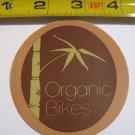 ORGANIC BIKES Bamboo Mountain Frame MTB STICKER DECAL