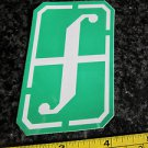 "3"" FORUM White/Green Ski Snowboard Race Rack Ride DECAL STICKER - FREE SHIPPING"