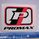"2.5"" PROMAX Tri Mountain BMX Bicycle Ride Street Race Bike Frame Sticker Decal"