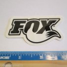 "3"" x 1.5"" Black/White FOX RACING Ride  Bicycle Bike Mountain Road STICKER DECAL"