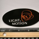 "4"" LIGHT and MOTION Bike Road MTB Race TRAIL Ride Frame Bicycle DECAL STICKER"