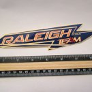 """8"""" Raleigh Race Team CROMO MX Bike Race TRAIL Ride Frame Bicycle DECAL STICKER"""