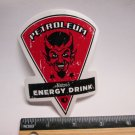 "4"" PEARL IZUMI DEVIL GAS Bicycle Sticker (Mountain, Road, Tri, Frame Bike Decal)"