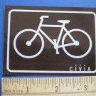 "3.5"" CIVIA Road Tri Mountain Cruiser Commute  Ride Bike Bicycle DECAL STICKER"