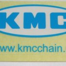 -Authentic- KMC Road MTB DH Frame Bike Ride Mountain Bicycle DECAL STICKER RBR