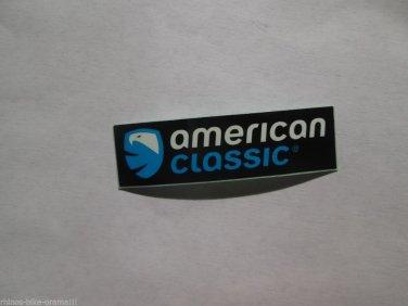 "ONE - 2.75"" AMERICAN CLASSIC  Bike Mountain Bicycle Ride STICKER DECAL (RBRA)"