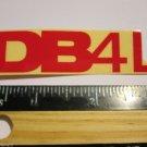 "3.25"" DIAMONDBACK DB4L RED (BMX Road MTB Mountain Bike Frame) Sticker Decal rbz"