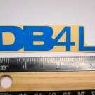 "3.25"" DIAMONDBACK DB4L BLUE (BMX Road MTB Mountain Bike Frame) Sticker Decal rbz"