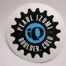 """ONE - 3"""" PEARL IZUMI Boulder Colo Parts Bike Bicycle Seat Ride STICKER DECAL rbz"""
