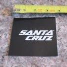 -ONE- SANTA CRUZ BLACK.   Bike Bicycle Mountain -  STICKER DECAL (A13)
