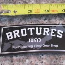 -ONE- BROTURES  TOKYO Fixed Gear Bike Bicycle Mountain -  STICKER DECAL (A13)