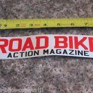 -ONE- ROAD BIKE ACTION MAGAZINE r Bike Bicycle Mountain -  STICKER DECAL (A13)