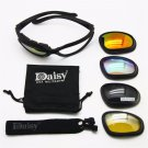 Army Sunglasses Kit Polarized Goggles War Game Tactical Glasses Outdoor Cycling