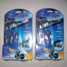 Instant Zippers Fix Repair Replace Fast Easy Kit Rescue 2 Pack 12 Pieces Holders