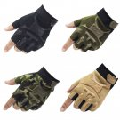 Mechanix Wear Outdoor Half Finger Gloves Military Tactical Gym Workout Army