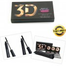 3D Fiber Lash Mascara Younique Moodstruck Makeup Unique Eyelashes Black 2Pcs/Set