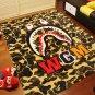 Supreme A Bathing Ape Bape Shark Blanket Soft Bed Cover Towel Carpet 130x150cm