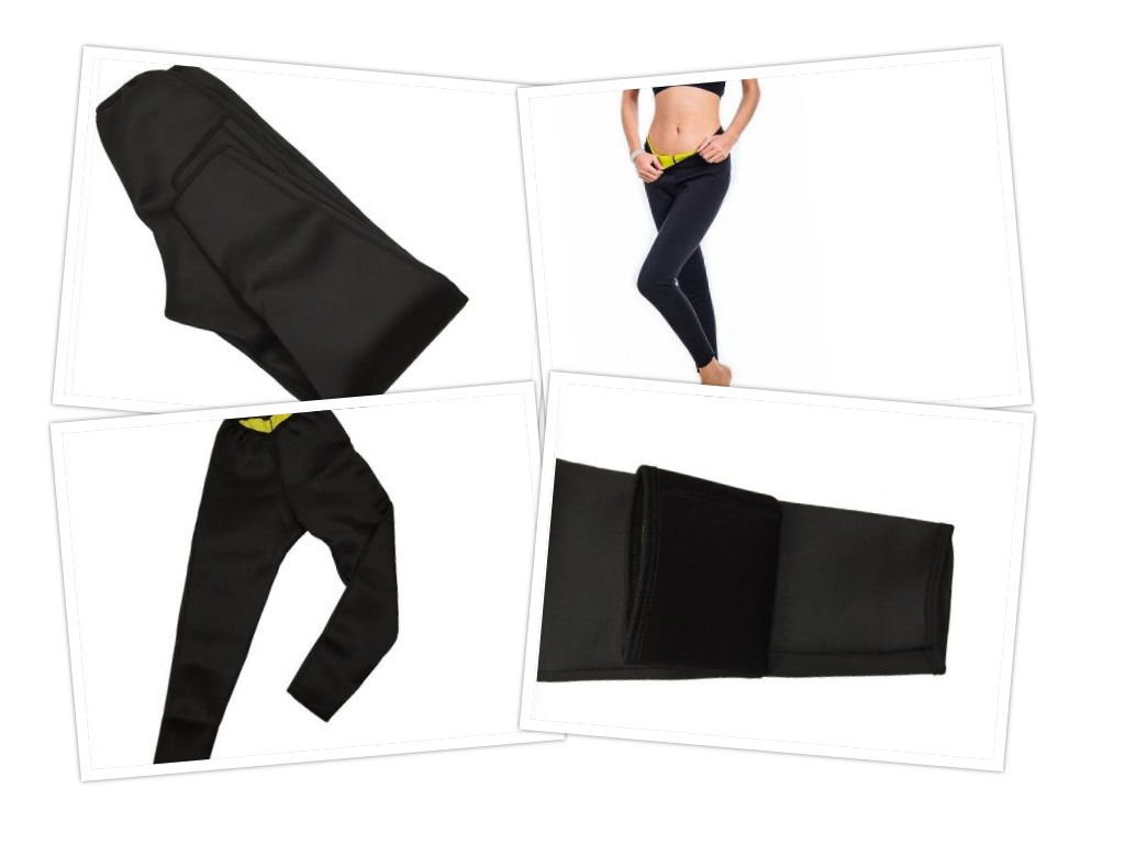 Weight Loss Long Slimming Pants Sweat Sauna Leg Hot Thermo Neoprene Body Trend