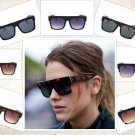 Sunglasses Kardashian Kim Women Retro Shades Luxury Brand Designer UV400 Resin