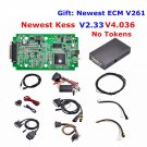 KESS V2 V2.33 Firmware V4.036 No Tokens Limited ECU Chip Tuning Multi-Language