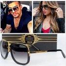 Fashion Sunglasses Square Celebrity Women Men Vintage Mirror Glasses Frame UV400