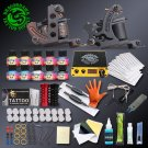 Complete Professional Tattoo Kits Set Machine Power Supply 2 guns Immortal Tool