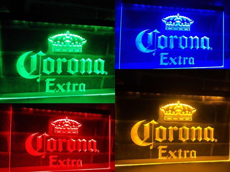 LED Neon Light Corona Extra Beer Sign Bar Club Pub Home Decor Advertise Gift Set
