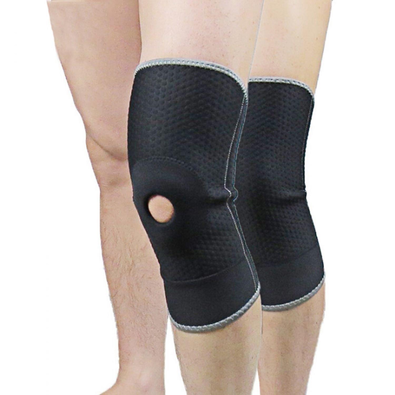 Leg Knee Support Brace Pad Sport Protector Football Basketball Compression Safe