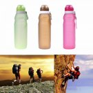 650ml Portable Foldable Leakproof Water Bottle Outdoor Kettle Cup Hiking Sports