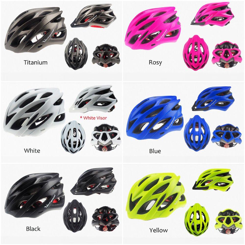 Helmet Bicycle Matte Racing Head Protection Aero Men Cycling Led Night Mountain