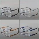 Optical Eyeglasses Frame Spectacle Prescription Glasses Stainless Steel Unisex