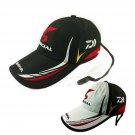 Daiwa Fishing Breathable Hat Cap Adjustable Mens Japanese Baseball Sunshade New