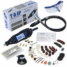 Rotary Speed Tool Power 220v Electric Kit Corded 130w Mini Drill Flexible Shaft
