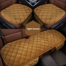 Seat Cover Universal Auto Supplies Plush Protector Car Chair Bench Blanket Soft
