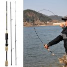Spinning Fishing Rod Carbon Fiber Portable Travel Ultra Light Pole 1.8m Soft New
