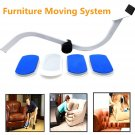 Furniture Moving System Tool Moves Lifter Save Effort 4 Slides Easy Move Sofa