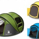 Camping Tent 3-4 Person Hiking Waterproof Automatic Pop Up Hydraulic Outdoor New