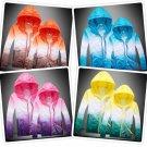 Rain Coat Waterproof Jacket Thin Hooded Unisex Quick Drying Trench Coats Outdoor