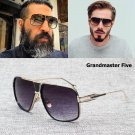 Fashion Grandmaster Five Aviator Sunglasses Men Women 2017 New Vintage Classic
